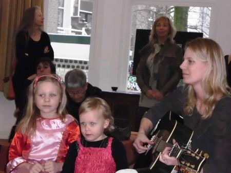 optreden Jonna, Bente en Harper