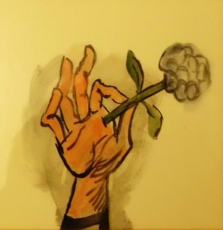 Tegel Leon Tebbe, bloem